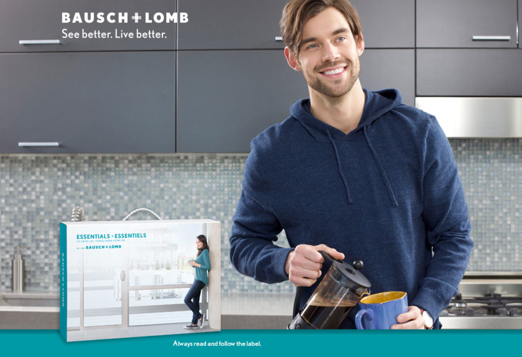 Bausch+Lomb ad