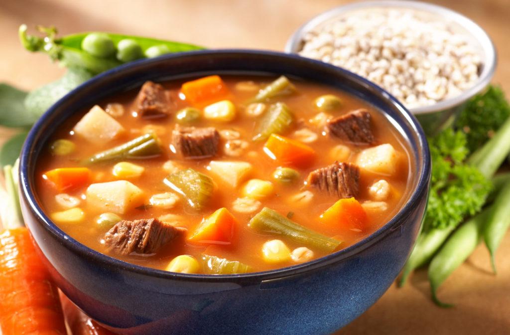 Beef Veg Barley Soup