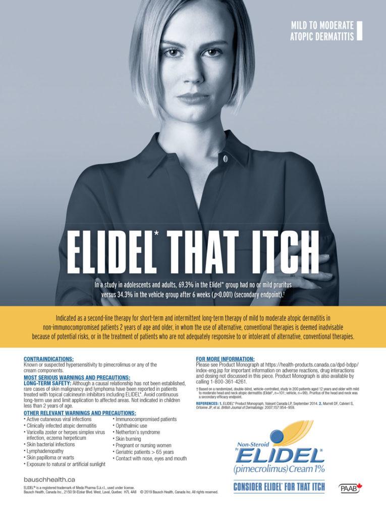 Elidel-Itch