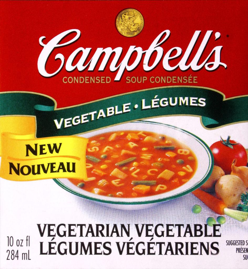 Vegetable Soup-campbells
